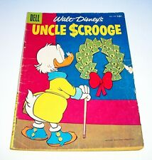 Uncle Scrooge (Walt Disney's) #16, 1956 Dell Comics $.10-c. 32pgs. Golden Age