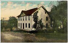 """Old Brown Tavern"" (Humbertson's) Near Somerfield PA Postcard"
