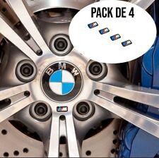 PACK DE 4 STICKERS 3D BMW M MOTORSPORT LOGO JANTES VOLANT BMW F20 F30 M2 M3 M5