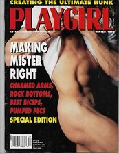 PLAYGIRL Magazine Winter 1992 Daniel Torres Charmed Arms Power Bottoms Biceps