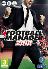 FOOTBALL MANAGER 2018 PC MAC | in editor di gioco incluso