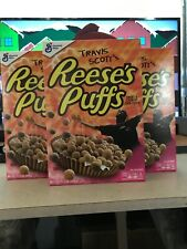 Travis Scott Reeses Puffs Cereal Box Astroworld Cactus Jack Special Edition