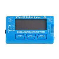 For Rc Cellmeter 8 Testeur De Capacité De Batterie Numérique C9S1