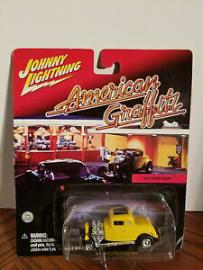 2001 - Johnny Lightning - 1932 Ford Coupe - From ' American Graffiti - Free Ship