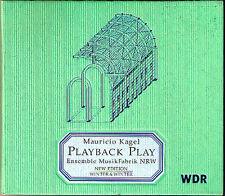 Mauricio KAGEL Playback Play From the Music Fair Radio Piece WINTER & WINTER CD