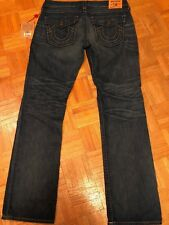True Religion $266 Women's Billy Vintage Straight Jeans Tag Size 32 *NEW*