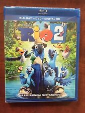 Rio 2  Blu-ray + DVD  NEW Free Ship