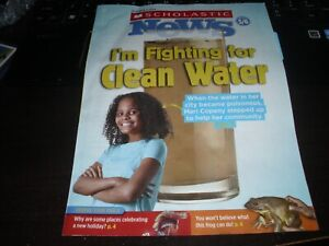 SCHOLASTIC NEWS WEEKLY READER OCTOBER 2019 FIGHTING FOR CLEAN WATER NEW HOLIDAY
