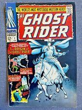 The Ghost Rider #1 Marvel Comics February 1967 Origin 1st Appearance 💀 🔥