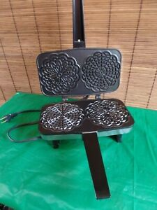 Vintage Vitantonio Pizzelle Chef 300 Nonstick Pizzelle Iron Tested and Working