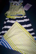 Nwt! Lavender by Us Angels Girls Size 4/5 Multi Stripe Sleeveless Dress Nwt