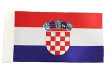 "Croatia Country 9"" x 6"" Inch Car Antenna Flag.New"