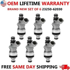 BRAND NEW x6 OEM Denso Fuel Injectors for Toyota Tacoma 4Runner T100 Camry Lexus