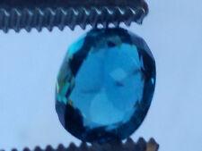 High Quality AAA 0.9 Carat Blue Kunar Tourmaline;  VVS No Enhancements