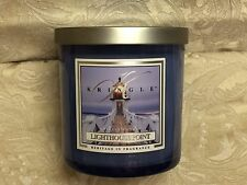 Kringle Candle Co.  LIGHTHOUSE  POINT  COLORED MEDIUM JAR CANDLE (8.5 oz)