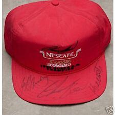 CHUCK BOWN, HENSLEY RACING, AUTOGRAPHED BASEBALL CAP