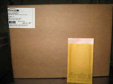 "500 - #000 Ecolite Kraft Bubble Mailers, 4"" x 8"" - NEW PRICE!"