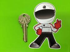 VAUXHALL DRIVER 2 fingered salute car STICKER DTV Viva Magnum Chevette Rally