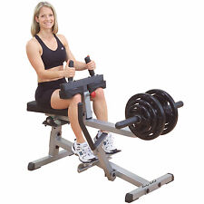 Body-Solid GSCR349 Seated Calf Raise Home Gym Lower Body Strength Machine