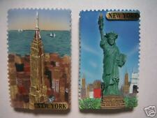 Magnet - Empire State/Statue of Liberty(2pc)- Item#3575