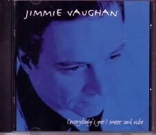 JIMMIE VAUGHAN Sweet Soul Vibe PROMO DJ CD STEVIE RAY