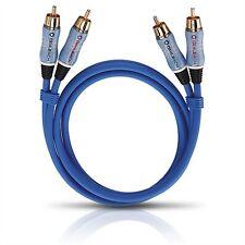 Oehlbach 2701 Beat! stéréo NF Câble 1,0m 2x Cinch sur 2x cinch audio analogique