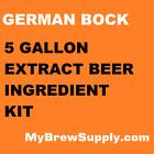 German Bock Homebrew 5 Gallon Beer Extract Ingredient Kit - My Brew Supply