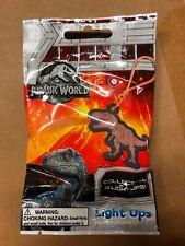 Jurassic World Light Up Backpack Clips, LOT Of 20 Packs, Safety Flashlight Fun!