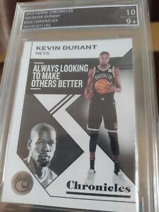 Kevin Durant 2019 Chronicles #49 Base card (BYCC-10 / 9+)