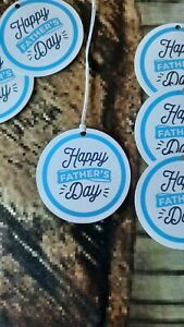 10 Fathers Day Gift Tags Labels Topper Crafts Card Making Gift Bag Product