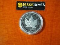 2019 $5 MODIFIED PROOF SILVER MAPLE LEAF FROM PRIDE OF NATIONS ONE COIN IN CAP