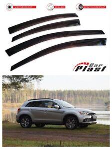 For Mitsubishi ASX/Outlander Sport Window Deflector Visor Vent Rain Wind Guard