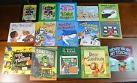 Lot 15 HBPB Picture Books about Starting School Kindergarten Teacher Set K6