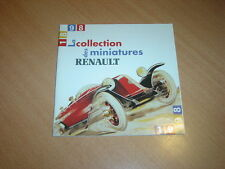 CATALOGUE Renault miniatures de 1998