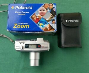 Polaroid PZ2180AF 38-80mm Zoom Compact Film Camera  Near Mint - Bag Box + Manual