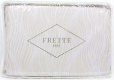 """Frette Sandglass Duvet Cover, KING Beige / Ivory (104"""" x 91"""") - NEW"""