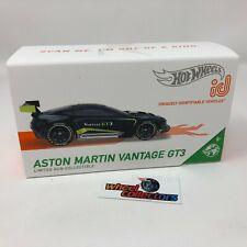 Aston Martin Vantage Gt3 * 2021 Hot Wheels id Car New! Case B