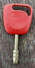 Genuine Ford Red Key Laser Cut Ignition Key