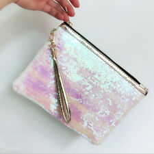 Women Makeup Drawstring Bag Storage Travel Pouch Cosmetic Handbag Case Clutch US