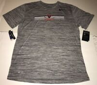 New Nike Men's Virginia Cavaliers UVA Legend Velocity Shirt Dri-Fit Large $35