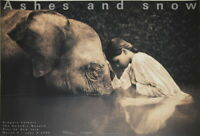 175393 GREGORY COLBERT Girl with Elephant Decor LAMINATED POSTER DE