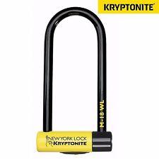 Kryptonite New York M18 Bike Bicycle Scooter D U Key Lock Sold Secure Gold 18mm