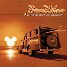 BRIAN WILSON (of the Beach Boys)- IN THE KEY OF DISNEY CD SEALED free shipping