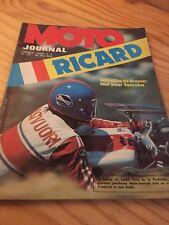 MOTO JOURNAL 172 1974 200 miles au Ricard Sanglas 400 Interview Malherbe ...etc