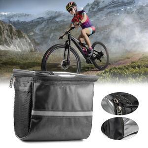 Neu Fahrrad Lenkertasche Abnehmbar Handy Halterung Fahrradtasche Wasserdicht
