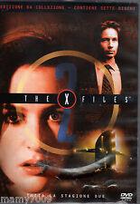 DVD=THE X FILES=TUTTA LA STAGIONE DUE IN 7 DVD