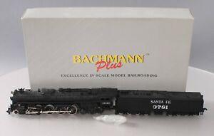 Bachmann 31320 HO Santa Fe Northern 4-8-4 Steam Locomotive w/Tender & Smoke EX
