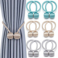 2 Pack Strong Magnetic Ball Curtain Tiebacks Tie Backs Buckle Clips Holdbacks US