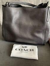 COACH Dalton 31 leather shoulder bag in Metallic - RRP £395.00