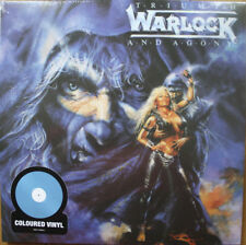 Warlock-Triumph and Agony-Blue VINILE LIMITED EDITION NEW SEALED VINYL rare